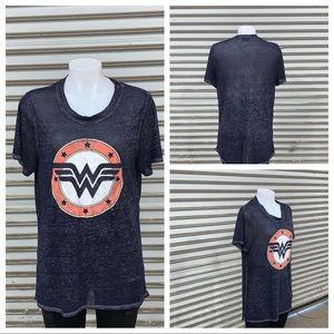 Wonder Woman burnout t-shirt